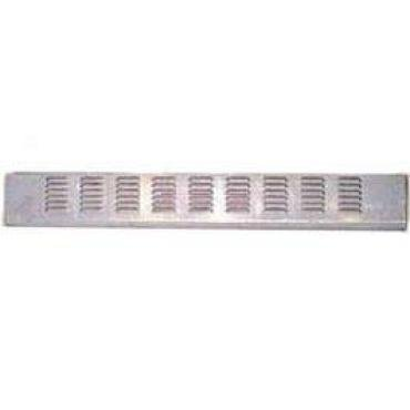 Chevy Truck Fleet Side 9-Row Louvered Rear Roll Pan Without License Plate Box, 1958-1959