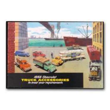 Chevrolet Truck Accessories Brochure, 1955