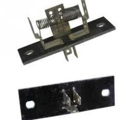 Chevy Truck Blower Motor Resistor, For Trucks Without Air Conditioning, 1967-1972