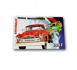 Chevrolet Truck Accessories Brochure, 1957