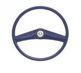 Chevy Truck Steering Wheel, Dark Blue, 1969-1972