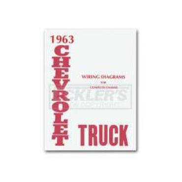 Chevy Truck Wiring Diagram, 1963