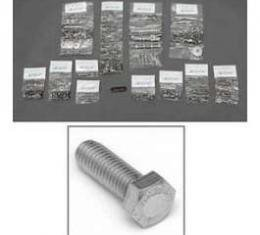 Chevy Truck Cab & Front End Sheet Metal Bolt Kit, Stainless Steel Hex Head, 1958-1959
