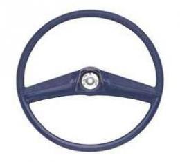 Chevy Truck Steering Wheel, Black, 1969-1972
