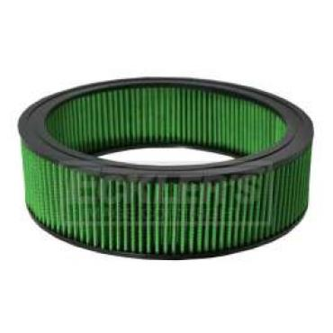 Chevy Truck Air Filter, Small Block, Green, 1968-1979