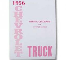 Chevy Truck Wiring Diagram Manual, 1956