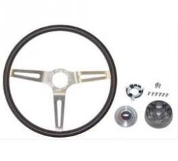 Chevy & GMC Truck Steering Wheel, 3 Spoke, Comfort Grip, 1967-1972