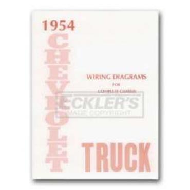 Chevy Truck Wiring Diagram, 1954