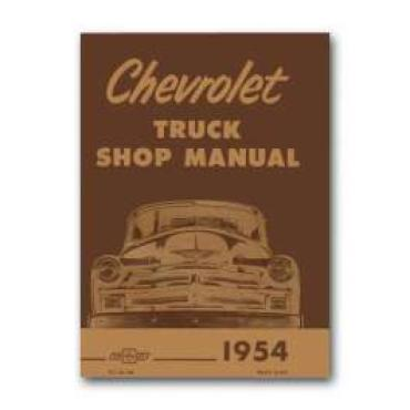 Chevy Truck Shop Manual, 1954