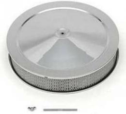 Chevy Truck Air Cleaner, 14, Chrome, 1955-1972