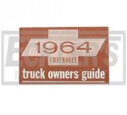 Chevy Truck Owner's Manual, 1964