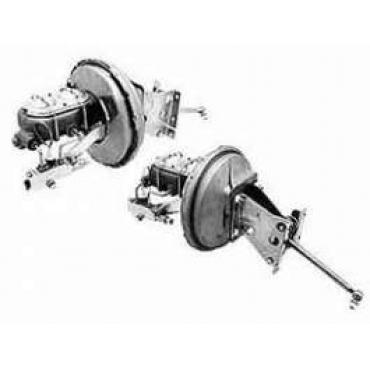 Chevy Truck Power Brake Booster Kit, Front & Rear Disc, Automatic Transmission, 1960-1962