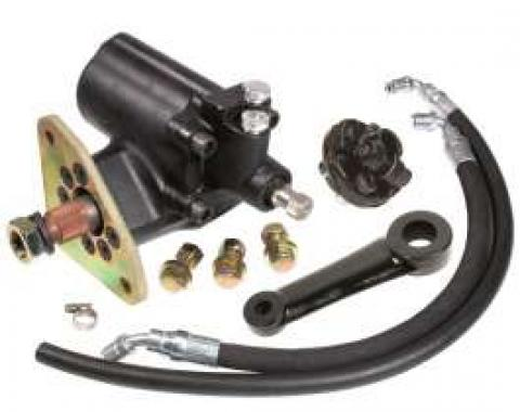 Chevy Truck Power Steering Conversion Kit, 400 Series Box, First Series, Original Column, 1955-1959