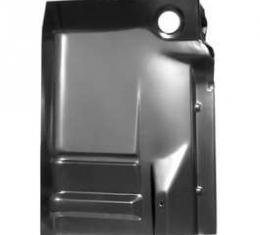 Chevy Truck Cab Floor, Right, With Backing Plate, 1988-1998