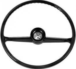 Chevy Truck Steering Wheel, Black, 1960-1966
