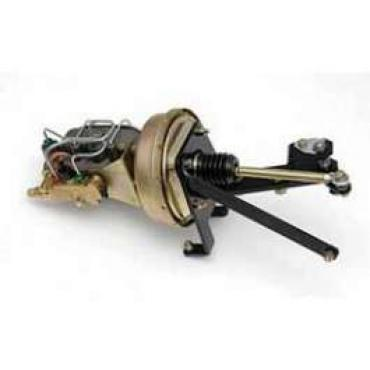 Chevy Truck Front Disc & Rear Drum Power Brake Booster Conversion Kit, 1955-1959