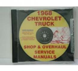 Chevy Truck Service, Shop, & Repair Manuals, On CD, 1968