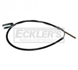 Chevy Truck Parking & Emergency Brake Cable, Front, Half Ton, 1963