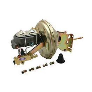 Chevy Truck Front Disc & Rear Drum Power Brake Booster Kit,11, 1967-1972