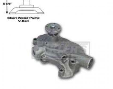 Chevy And GMC Truck Water Pump, Small Block, Short Style, AC Delco, 1965-1972