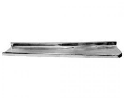 Chevy Truck Running Board, Chrome, Right, Step Side, 1947-1954