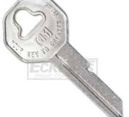 Chevy Or GMC Truck Key Blank, For Ignition Locks, 1947-1966
