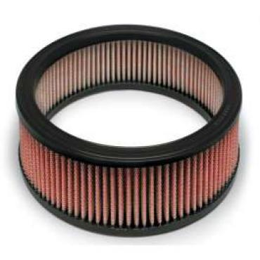 Chevy And GMC Truck AIRAID? SynthaFlow Air Filter, Red, Small And Big Block With 4 Tall Filter, 1968-1979