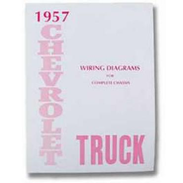 Chevy Truck Wiring Diagram Manual, 1957