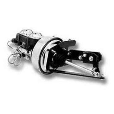 Chevy Truck Drum Power Brake Booster Conversion Kit, Front & Rear, 1955-1959