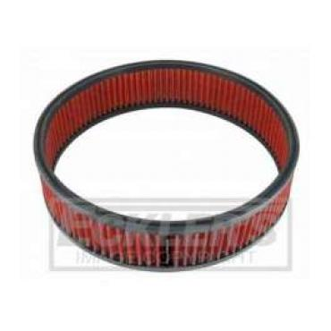 Chevy And GMC Truck Spectre Performance Low Profile Air Box Replacement Filter, Red