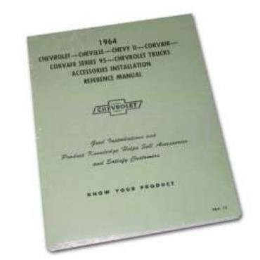 Chevy Truck Accessories Installation Manual, 1964
