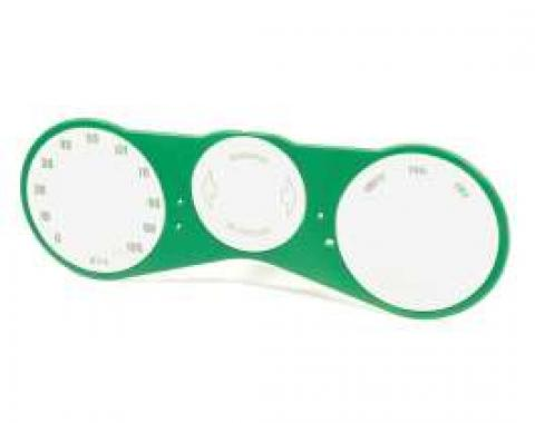 Chevy Truck Instrument Cluster Lens, For Trucks With Three Holes In Dash Cluster, 1967-1972