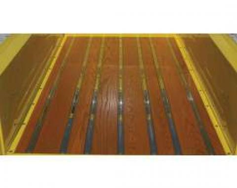 Chevy Truck Bed Strips, Stainless Steel, Polished, Short Bed, Fleet Side, 1958-1959