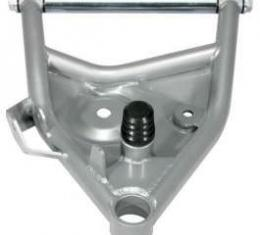 Chevy Truck Lower Control Arms, With Ball Joints, Tubular, Silver, 1963-1972
