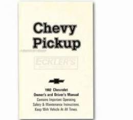 Chevy Truck Owner's Manual, 1982