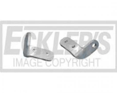 Chevy Truck Tailgate Latch Eye Brackets, Fleet Side, 1958-1966
