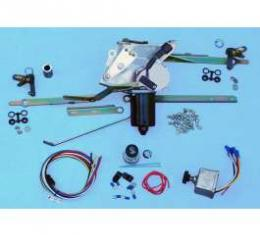 Chevy Truck Updated Windshield Wiper Conversion Kit, 2-Speed, With Delay Switch, 1947-1954