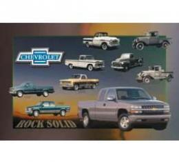 Chevy Truck History-Rock Solid Poster