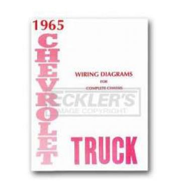 Chevy Truck Wiring Diagram, 1965