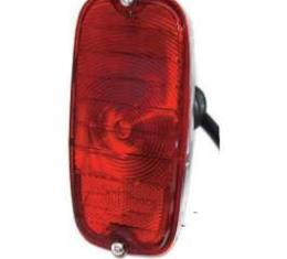 Chevy Truck Taillight Assembly, Left, Fleet Side, 1962-1966