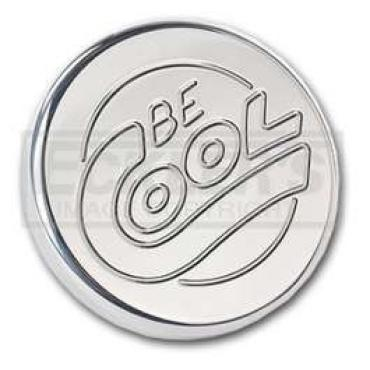 Chevy Or GMC Truck Radiator Cap, 12-15 Lb, Be Cool, Round Style, Polished Finish, 1958-1972