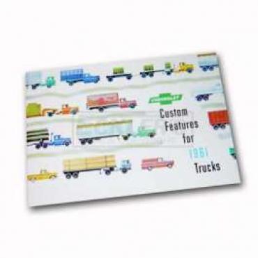 Chevrolet Truck Accessories Brochure, 1961