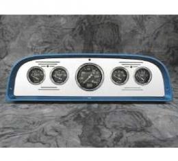 Chevy Truck Dash Insert, Polished Billet Aluminum, Classic Instruments, 1960-1963