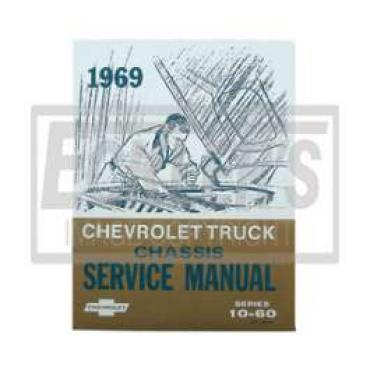 Chevy Truck Shop Manual, 1969