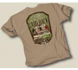 Laid Back Barefoot GMC Truck T-Shirt, Khaki