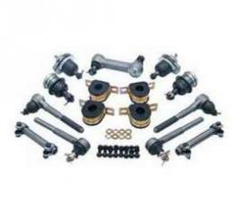 Chevy Truck Front End Rebuild Kit, With Polyurethane Bushings, 1983-1987