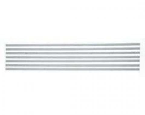 Chevy Truck Bed Strips, Steel, Short Bed, Step Side, 1954-1959