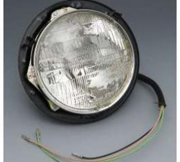 Chevy Truck Headlight Assembly, With Bucket & Bulb, 1955-1957