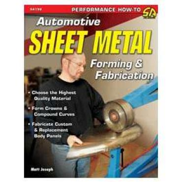 Chevy Sheet Metal Forming & Fabrication Book 1947-1972