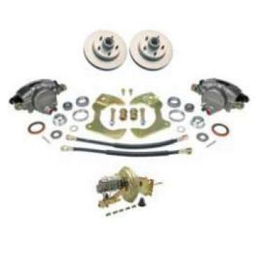 Chevy Truck Disc Brake Kit, Front, Power, Complete, 1967-1970